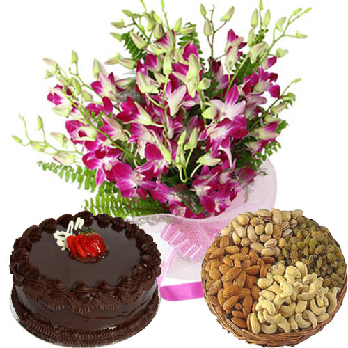 Deliver Online Flowers and Cakes to Hyderabad