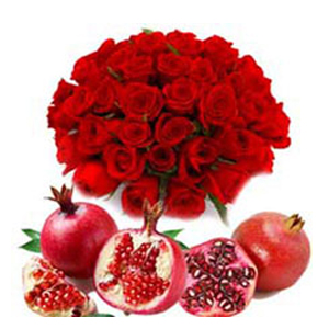 Fresh Fruits and Flowers to Hyderabad