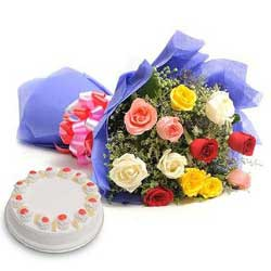 Deliver Mother's Day Flowers n Cakes to hyderabad