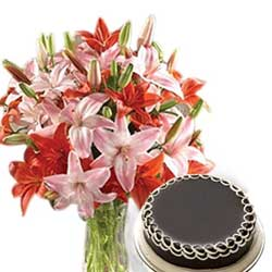 Send Online Mother's Day Flowers and Cakes to hyderabad
