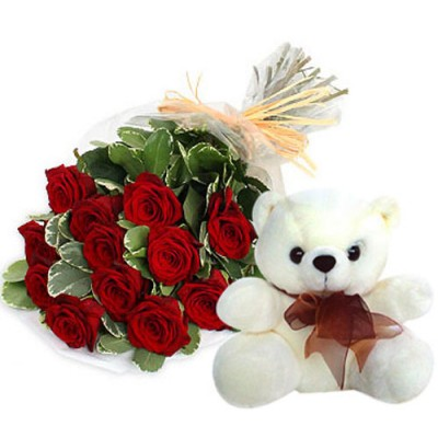 Same Day Delivery Of Softtoys and Flowers to Hyderabad